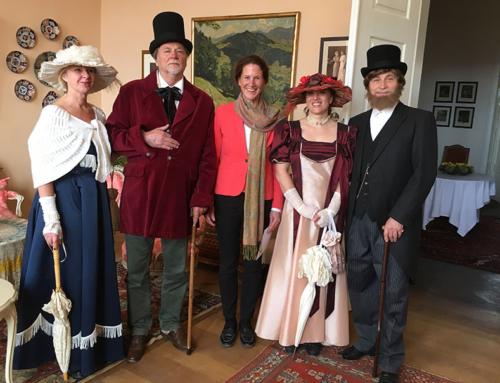 Neues Museum auf Schloss Lomnitz eröffnet