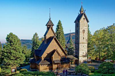 Stabholzkirche Wang in Karpacz (Krummhübel)