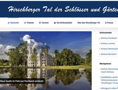 Hirschberger Tal mit neuem Internetauftritt