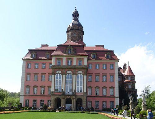 Fürstenstein – riesiges Schloss voller Geheimnisse